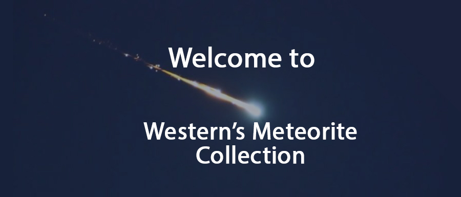 Meteorite Collection Banner