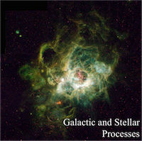 Galactic and Stellar Processes